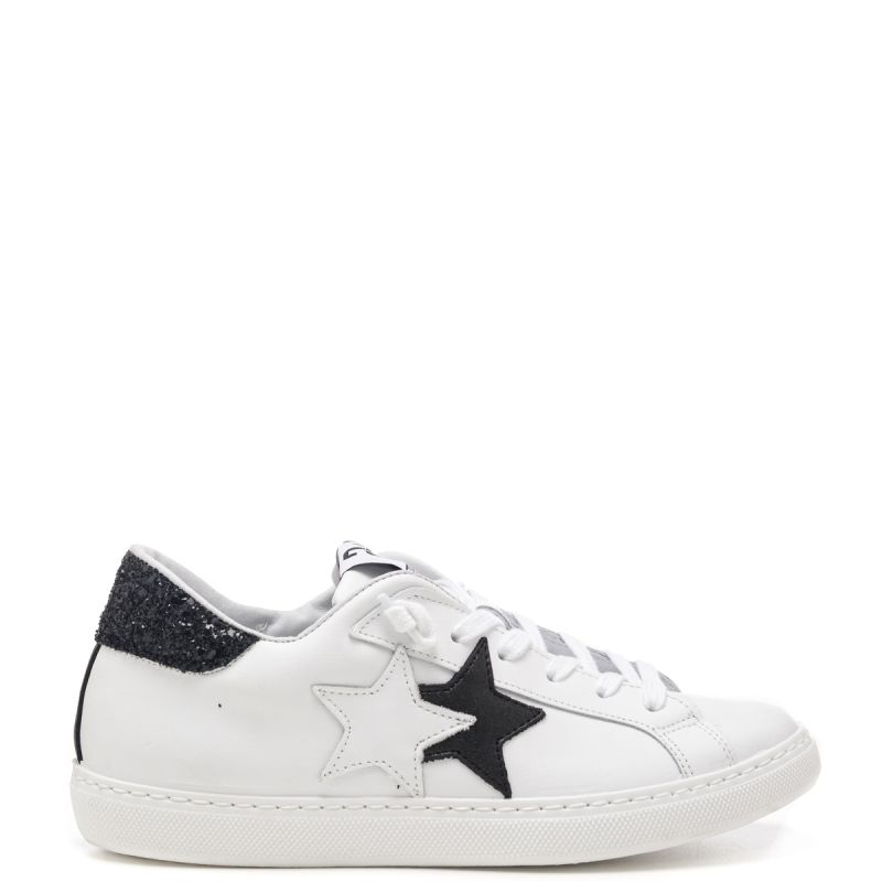 2 Star sneakers basse donna