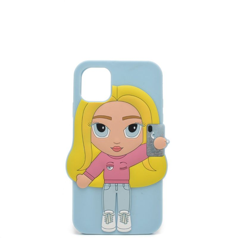 Chiara Ferragni cover Iphone 11 in silicone CFCIP11003