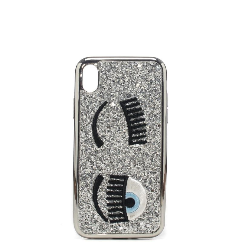 Chiara Ferragni cover Iphone Xr glitter flirting CFCIPXR008