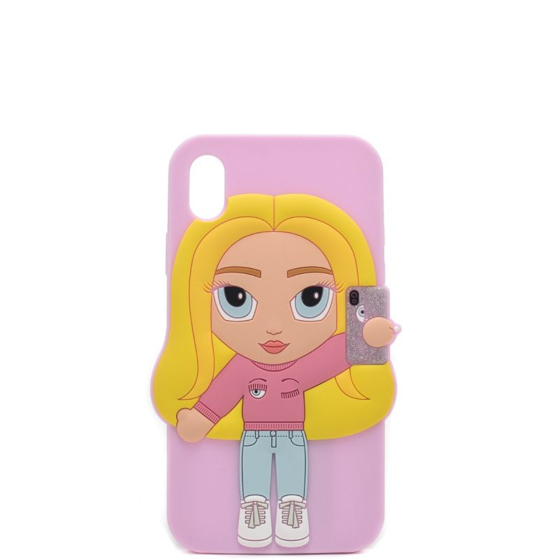 Chiara Ferragni cover Iphone XR in silicone CFCIPXR010