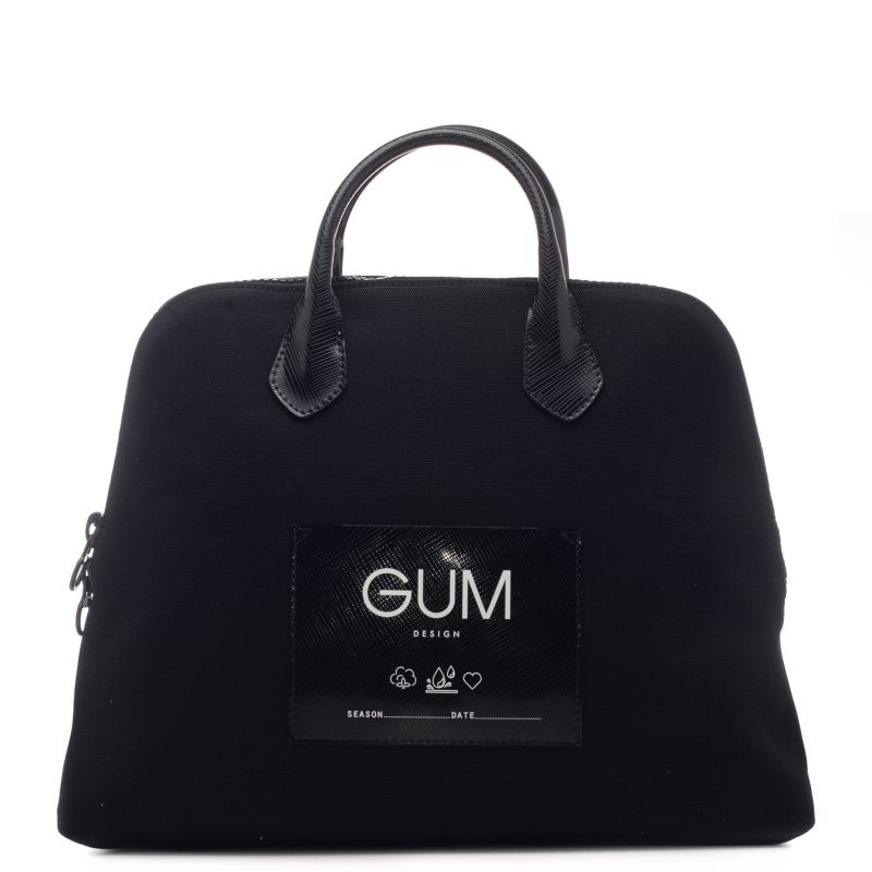 Borsa a mano in tessuto canvas waterproof - 100% Made in Italy - GUM by Gianni Chiarini