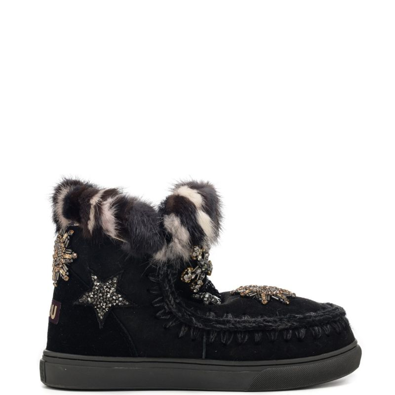 Mou stivaletto ESKIMO Star Patches FW111006A BKBK