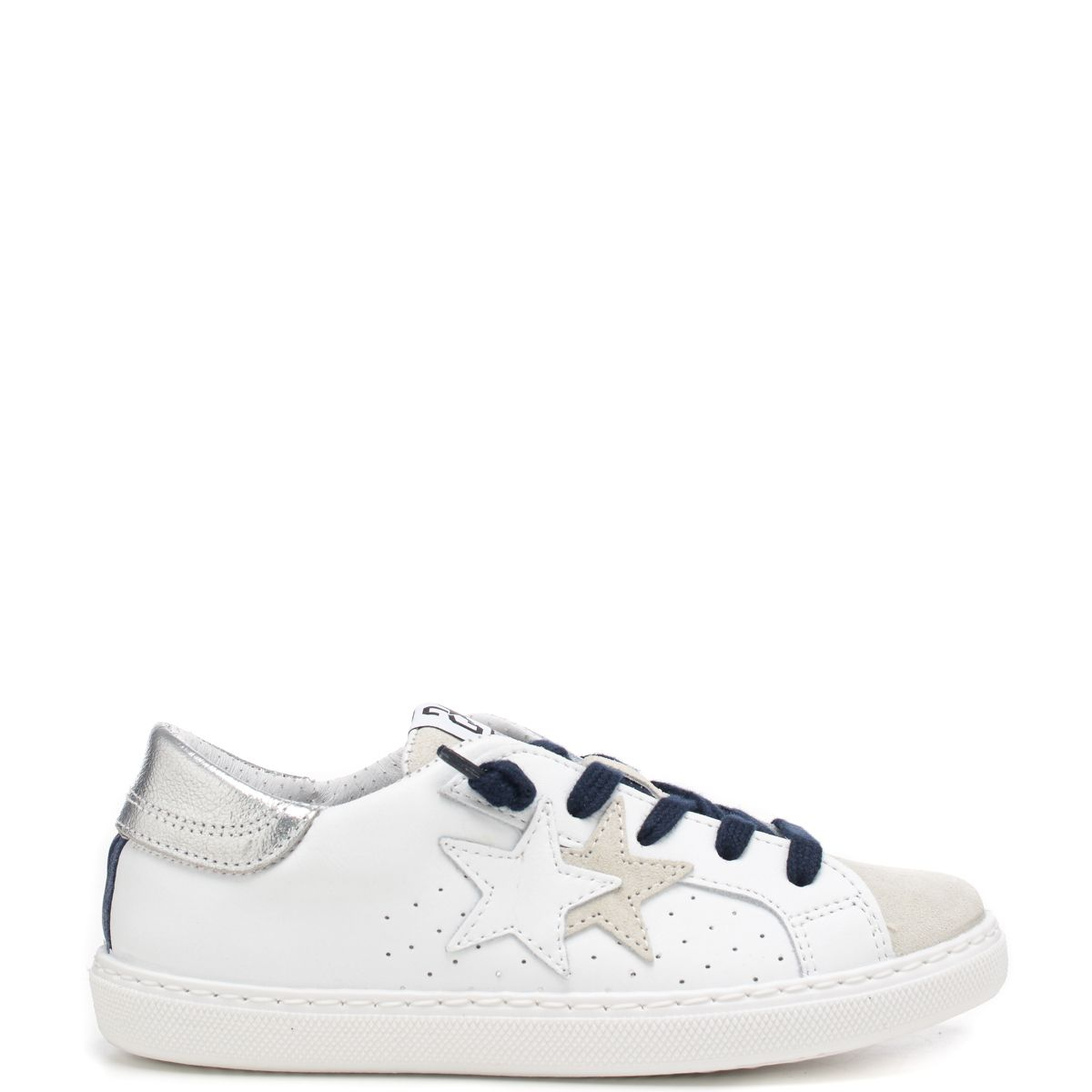 2 Star Sneakers In Camoscio