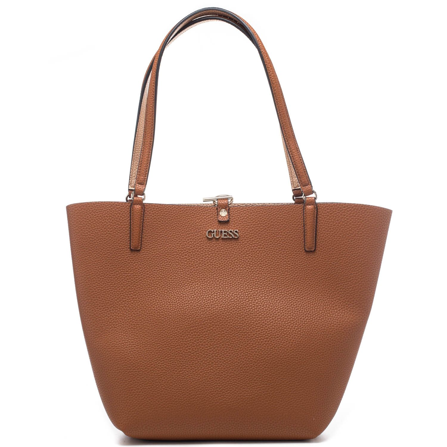 Borsa shopping donna Guess reversibile in ecopelle con pochette interna